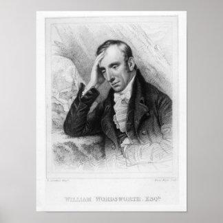 Portret van William Wordsworth Poster