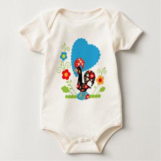 Portugese Haan van Geluk Baby Shirt