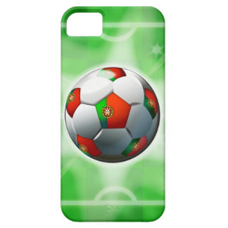 Portugese iPhone 5 van het Football/van het Voetba Barely There iPhone 5 Hoesje