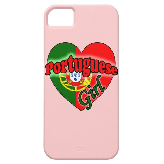 Portuguese Girl Barely There iPhone 5 Hoesje
