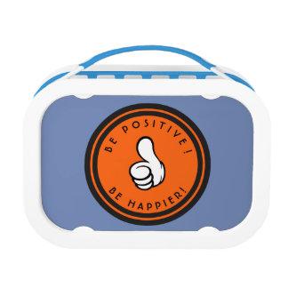 Positief ben! Gelukkiger ben! Lunchbox