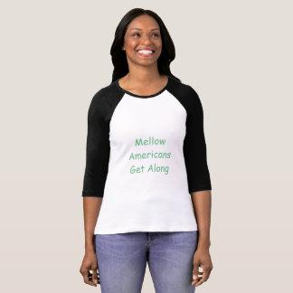 Positief bericht van eenheid t shirt