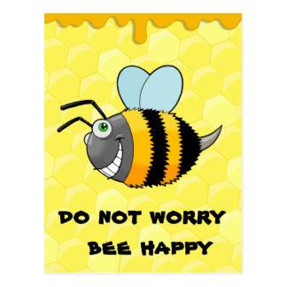 positieve bij briefkaart