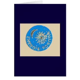 Positieve Energie voor het Nieuwjaar Briefkaarten 0