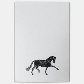 Post-in het merknota's van het Paard van de Post-it® Notes