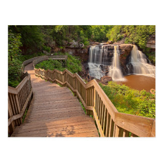 Postcard Blackwater Falls State Park West Virginia Briefkaart