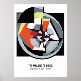 Poster - de Betekenis van Muziek