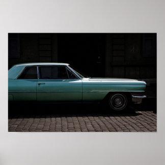 Poster - de Coupé DeVille van Cadillac van 1964