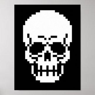 poster het met 8 bits van de Kunst van het Pixel v