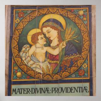Poster--Italiaans Madonna Poster