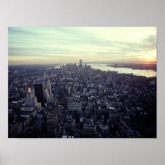 POSTER NYC~ in de TweelingTorens van Memoriam ~