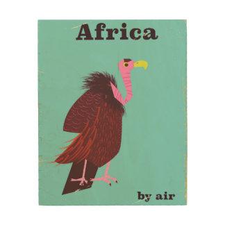 Poster van de de luchtreis van de Gier van Afrika