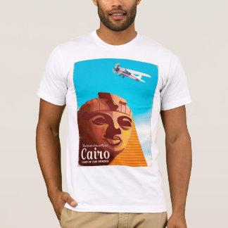 Poster van de de stijlreis van Kaïro Egypte het T Shirt