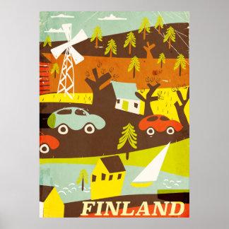 Poster van de het midden van de eeuw het moderne