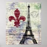 Poster van de Kunst van Frankrijk van de Toren van