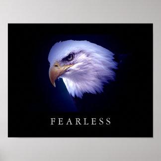 Poster van de Ogen van Eagle van de motivatie