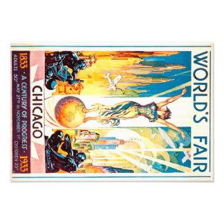 Poster van de Reclame van Chicago 1933 van