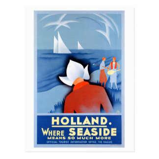Poster van de Reis van Holland het Nederland Briefkaart
