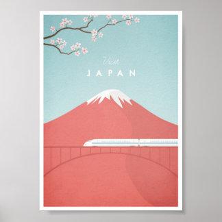 Poster van de Reis van Japan het Vintage