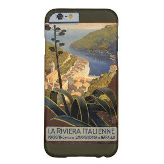 Poster van de Reis van La Riviera Italienne Barely There iPhone 6 Hoesje