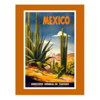 """Poster van de Reis van """"Mexico"""" het Vintage Briefkaart"""