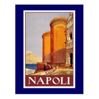 """Poster van de Reis van """"Napels"""" het Vintage Briefkaart"""