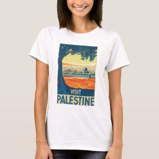 Poster van de Reis van Palestina van het bezoek T Shirt