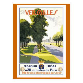 Poster van de Reis van Versailles het Vintage Briefkaart