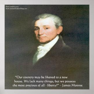 Poster van het Citaat van de Wijsheid van de Vrijh