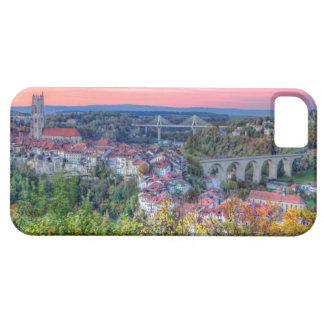 Poya en Zaehringen brug, Fribourg, Zwitserland Barely There iPhone 5 Hoesje