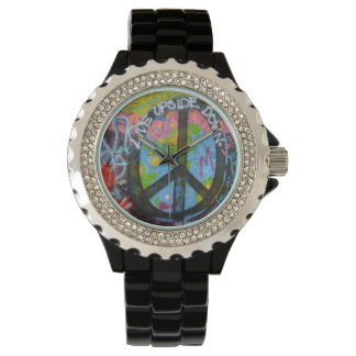 Praag Graffiti Horloges