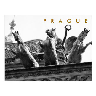 Praag - Nationaal Theater Briefkaart