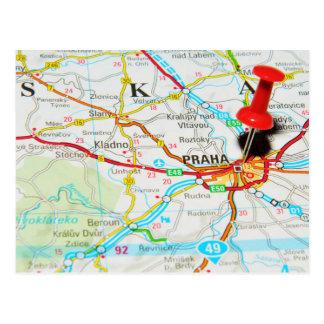 Praag, Praha in Tsjechische Republiek Briefkaart