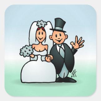 Prachtig Huwelijk Stickers