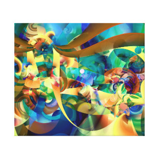 Prachtige Carnaval Canvas Print