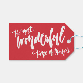 Prachtige Tijd van Jaar   Pak Labels van de Gift Cadeaulabel