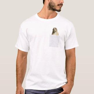 Prairiehond in Mijn Grappige T-shirt van de Zak