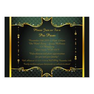 Pre-Prom uitnodiging, pre-Prom, Quinceanera, 12,7x17,8 Uitnodiging Kaart
