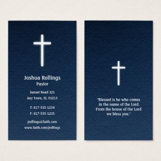 Predikant   Christelijk Kruis Visitekaartjes