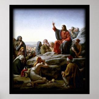 Preek op het Bijbelse Onderstel Poster