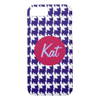 Preppy Hond iPhone 7 Hoesje