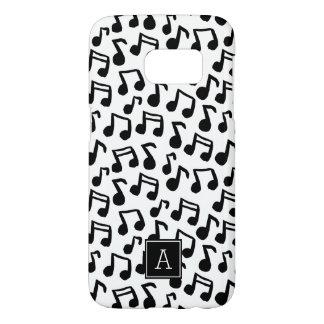 Preppy Muziek van de Krabbel neemt nota Samsung Galaxy S7 Hoesje