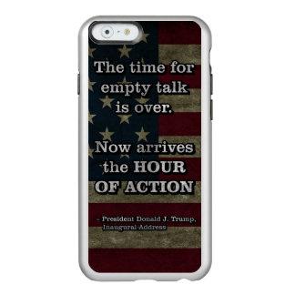 PRES45 UUR VAN ACTIE INCIPIO FEATHER® SHINE iPhone 6 HOESJE