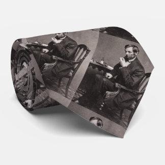 PRESIDENT ABRAHAM LINCOLN 1862 STEREOVIEW CUSTOM STROPDAS