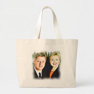 President Bill Clinton & President Hillary Clinton Grote Draagtas