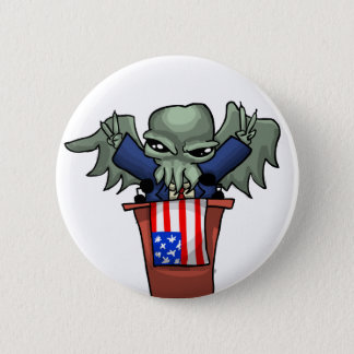 President Cthulhu Ronde Button 5,7 Cm