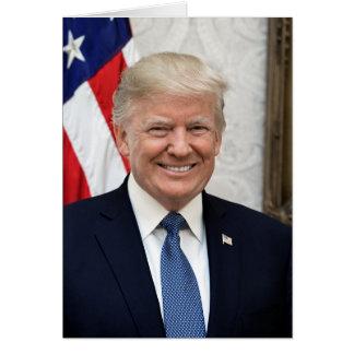 President Donald Trump Briefkaarten 0