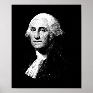 President Grafisch George Washington Poster