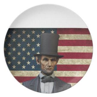 president Lincoln Bord