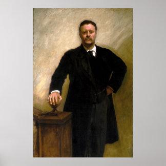 President Theodore Roosevelt John Singer Sargent Poster